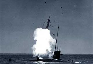 UGM-27B Polaris-A2 submarine ballistic missile