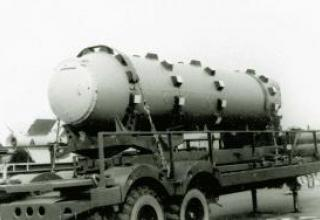 R-27 submarine ballistic missile (4K10, RSM-25)