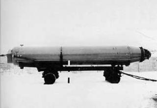 R-29 submarine ballistic missile (RSM-40)