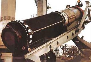 R-39 submarine ballistic missile (RSM-52)