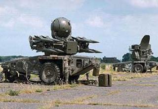 Rapier-2000 anti-aircraft missile system