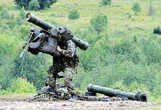 Portable anti-aircraft missile system RBS-70