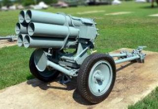 Jet six-barreled mortar 'd' - Nb.W 41
