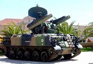 Roland-1 anti-aircraft missile system