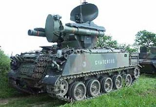 Roland-2 anti-aircraft missile system