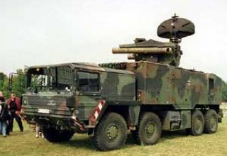 Roland-3 anti-aircraft missile system