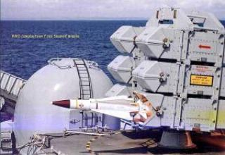 Sea wolf anti-aircraft missile system