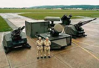Skyshield-ADATS anti-aircraft missile and artillery system