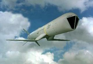 AGM-84H SLAM-ER aircraft cruise missile