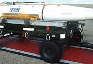 Aeroballistic missile AGM-69A SRAM
