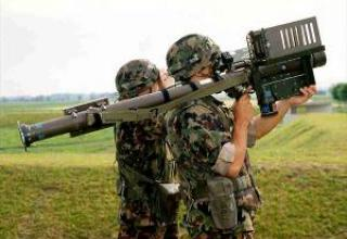 Portable anti-aircraft missile system Stinger