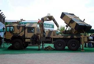 122mm T-122 Sakarya multiple launch rocket system
