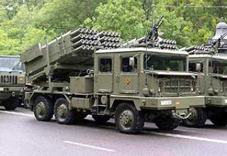 Teruel-3 multiple launch rocket system
