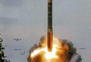 15G65 Topol-M intercontinental ballistic missile (RS-12M2)