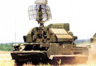 Anti-aircraft missile system 9K331 Tor-M1