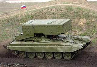 Heavy fire extinguishing system TOS-1A