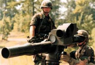 BGM-71F TOW-2 anti-tank missile system
