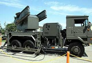 Tan-SAM anti-aircraft missile system (Tours 81)