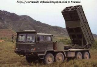 WM-120 multiple launch rocket system